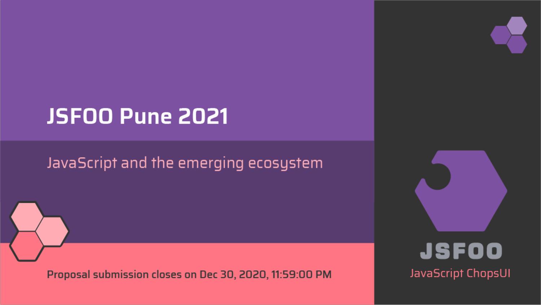 JSFoo Pune 2021