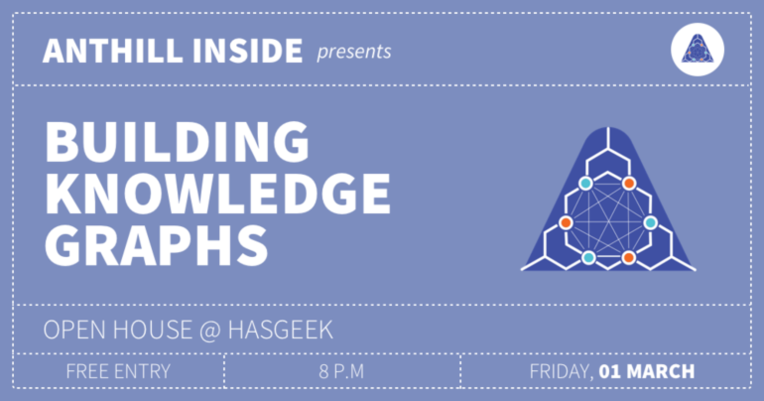 Open House: Building Knowledge Graphs