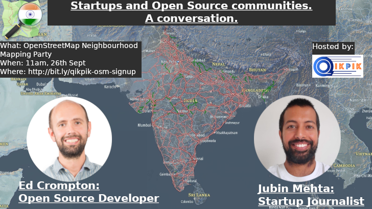 Startups and Opensource communities: A conversation