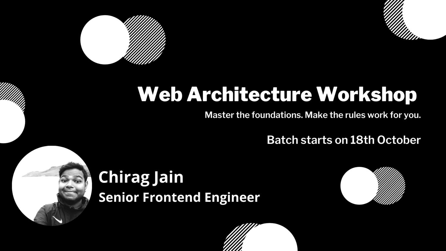 Web Architecture Workshop