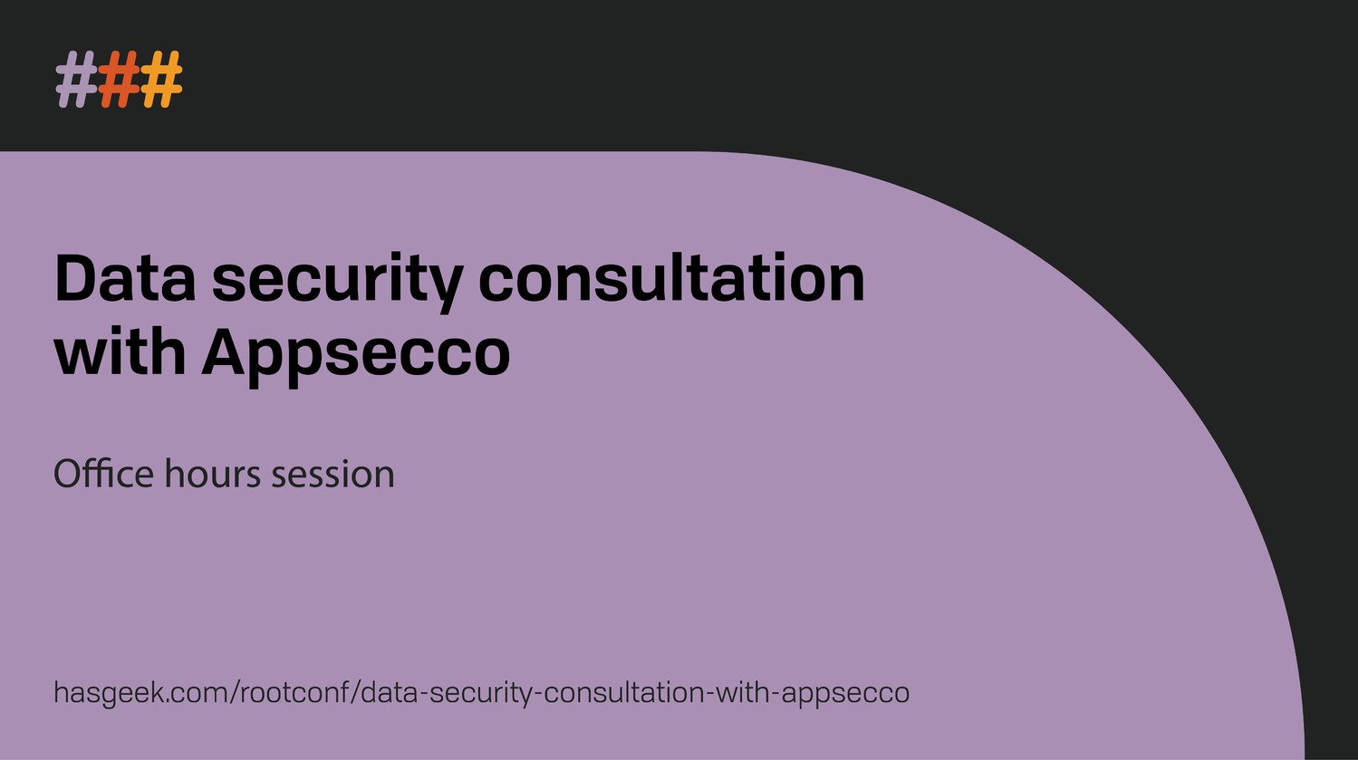 Data security consultation with Appsecco