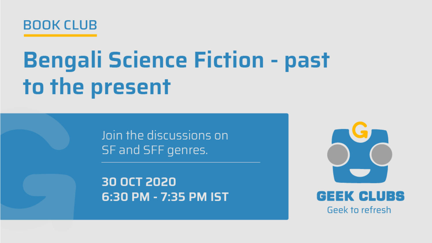 Bengali Science Fiction - past to the present