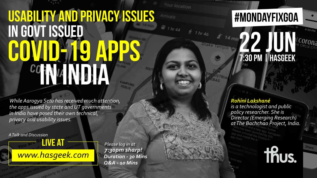 Usability and privacy issues in government-issued Covid-19 apps in India