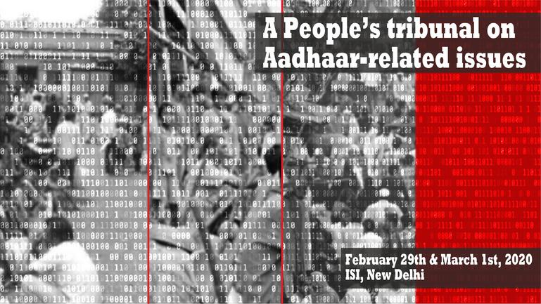 People's tribunal on Aadhaar-related issues