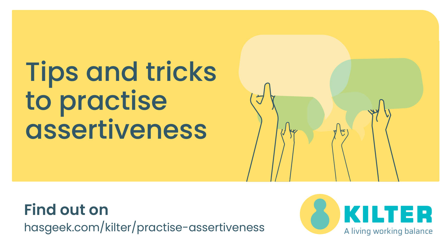 Tips and tricks to practise assertiveness