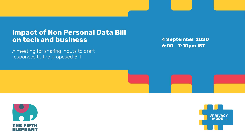 Impact of Non Personal Data Report