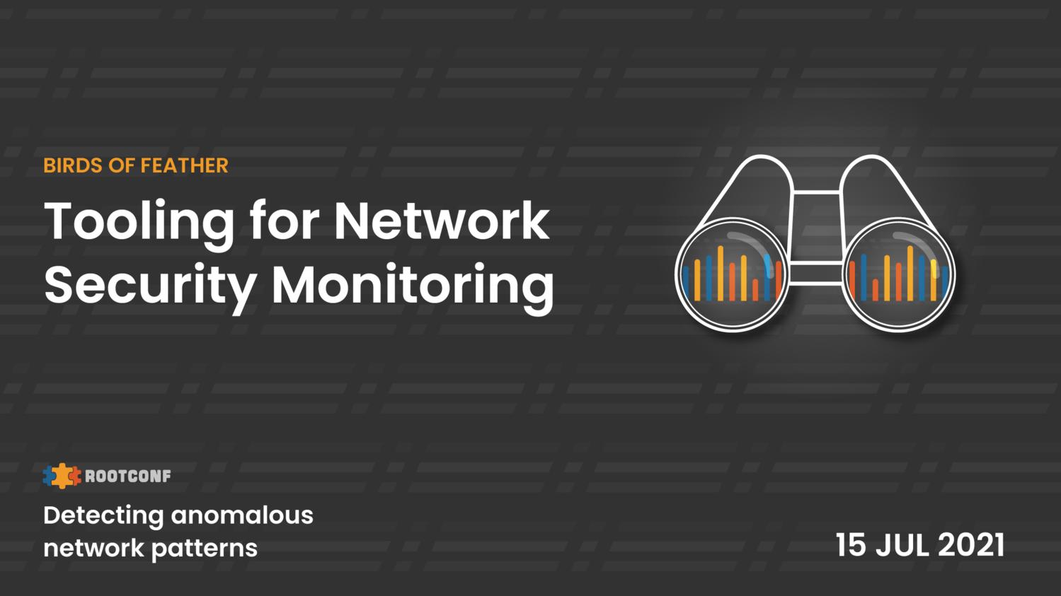 Detecting anomalous network patterns