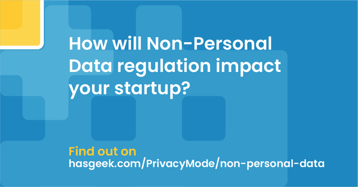 India's Non-Personal Data (NPD) framework