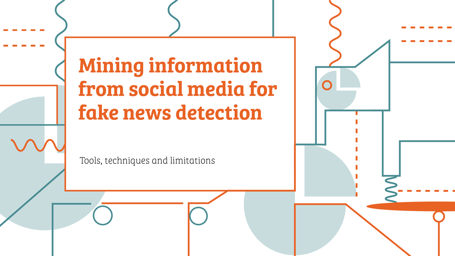 Mining information from social media for fake news detection