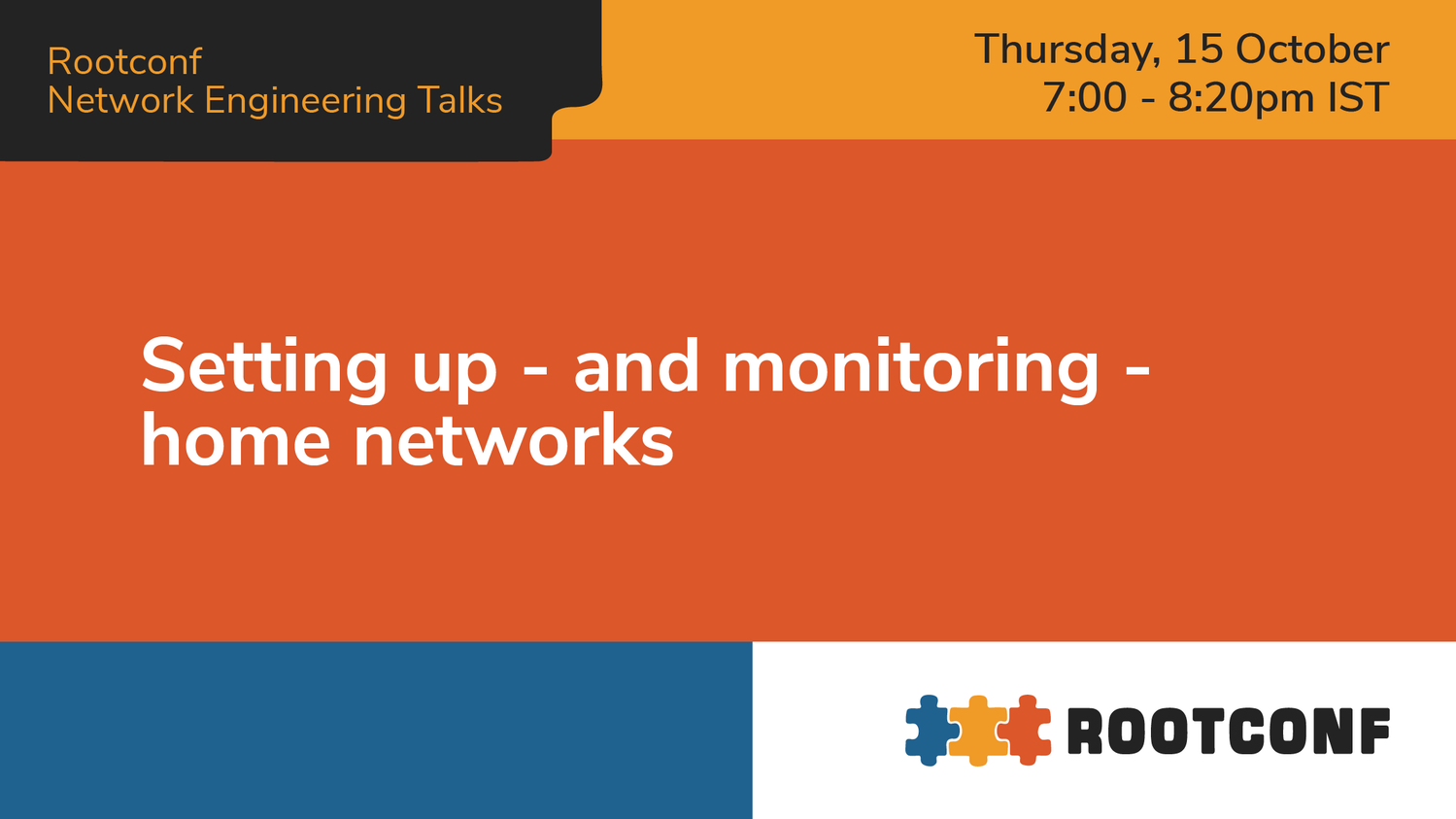 Setting up - and monitoring - home networks