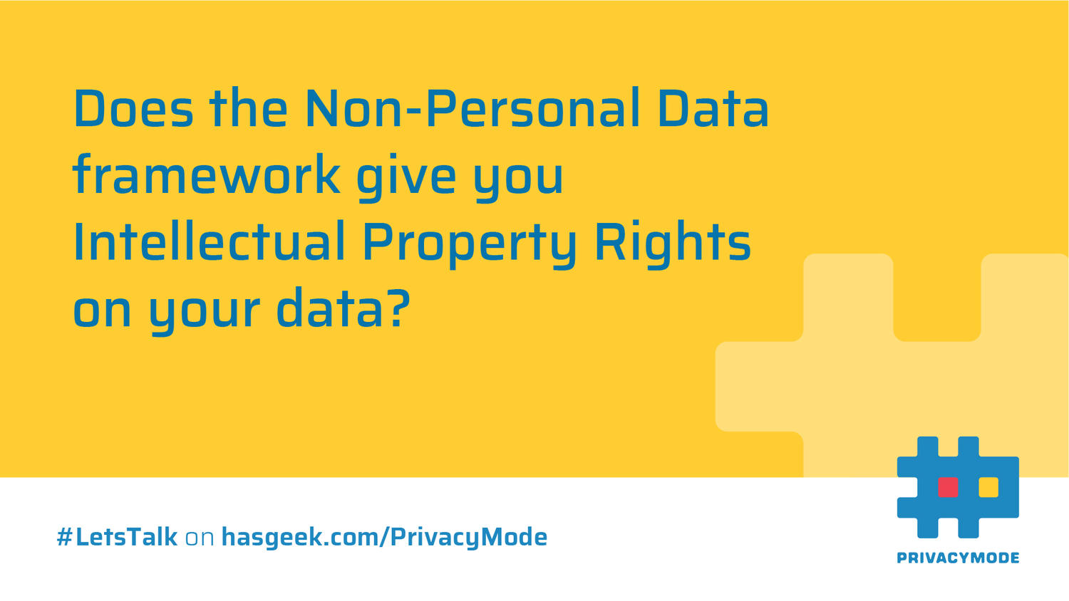 Impact of Non-Personal Data (NPD) framework on Startups, VC funding and Intellectual Property Rights