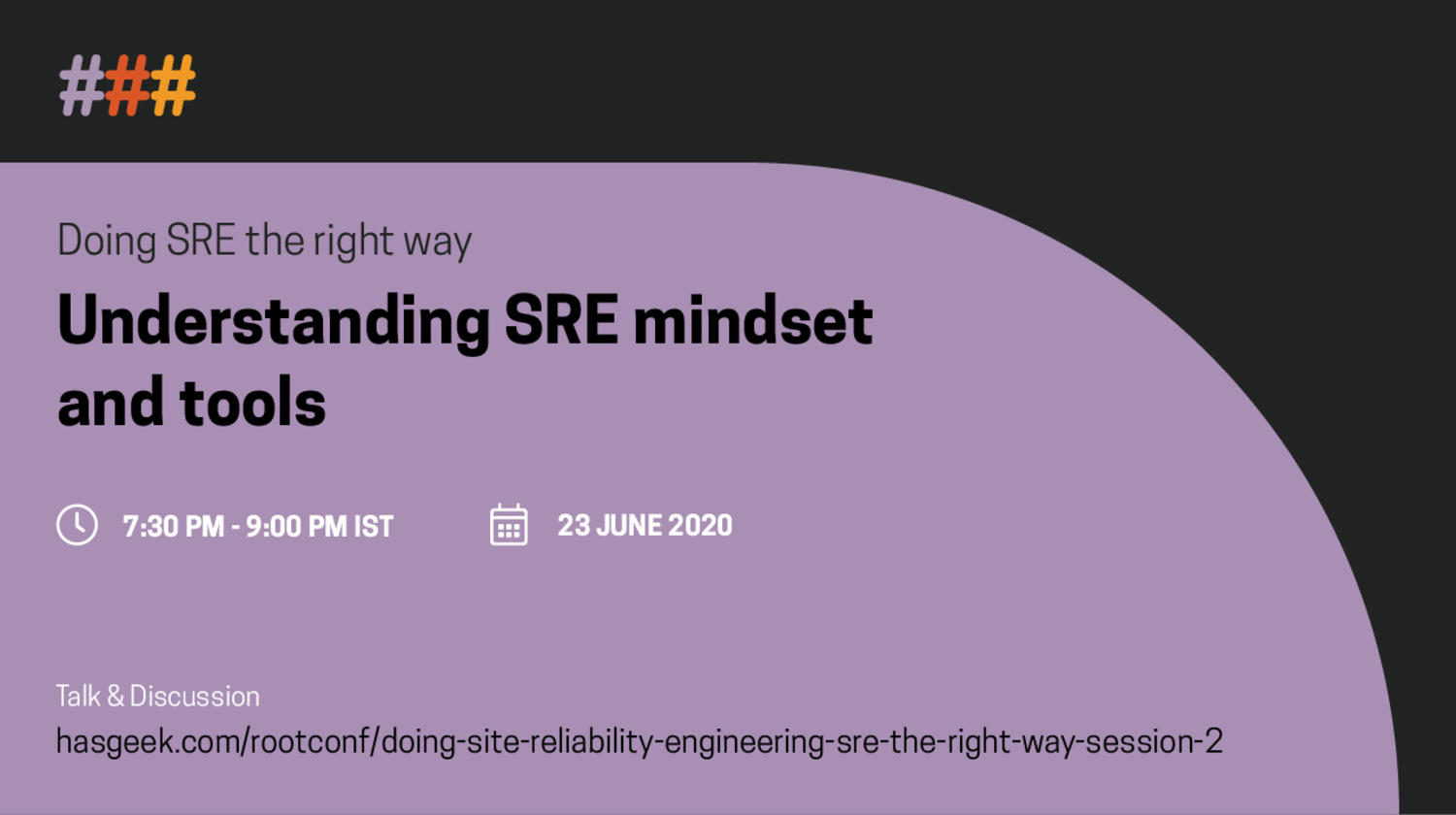 Doing Site Reliability Engineering (SRE) the right way - session 2