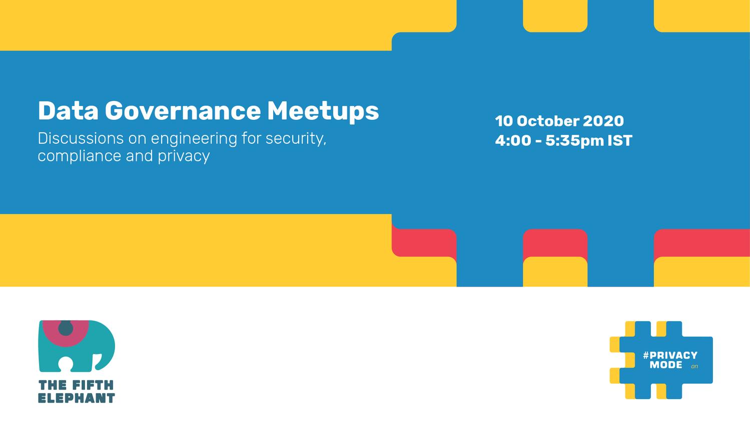 Data Governance Meetups
