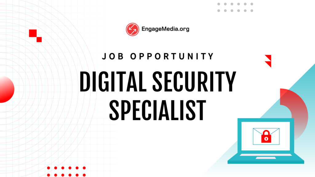 Job Opportunity: Digital Security Specialist