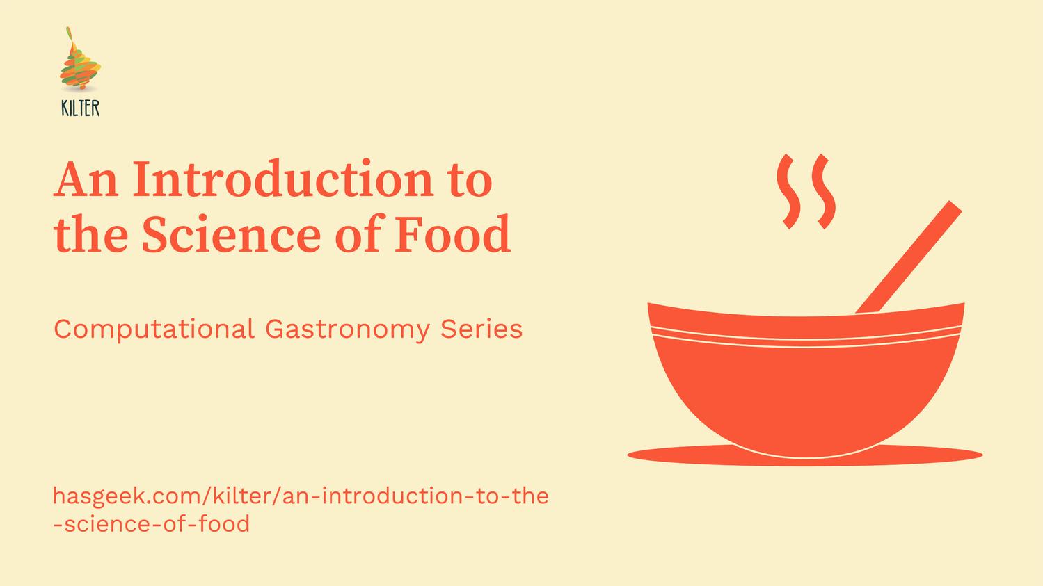 Computational Gastronomy