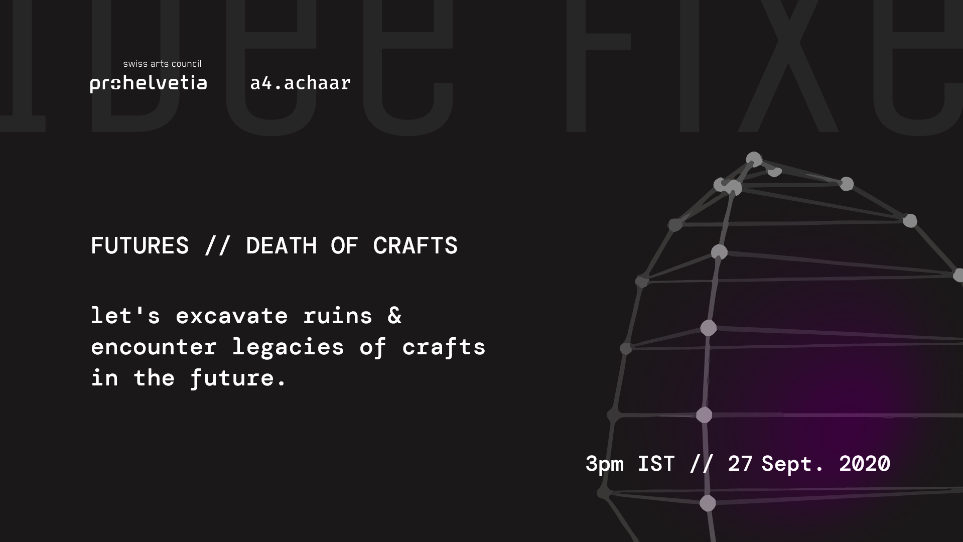 FUTURES // DEATH OF CRAFTS
