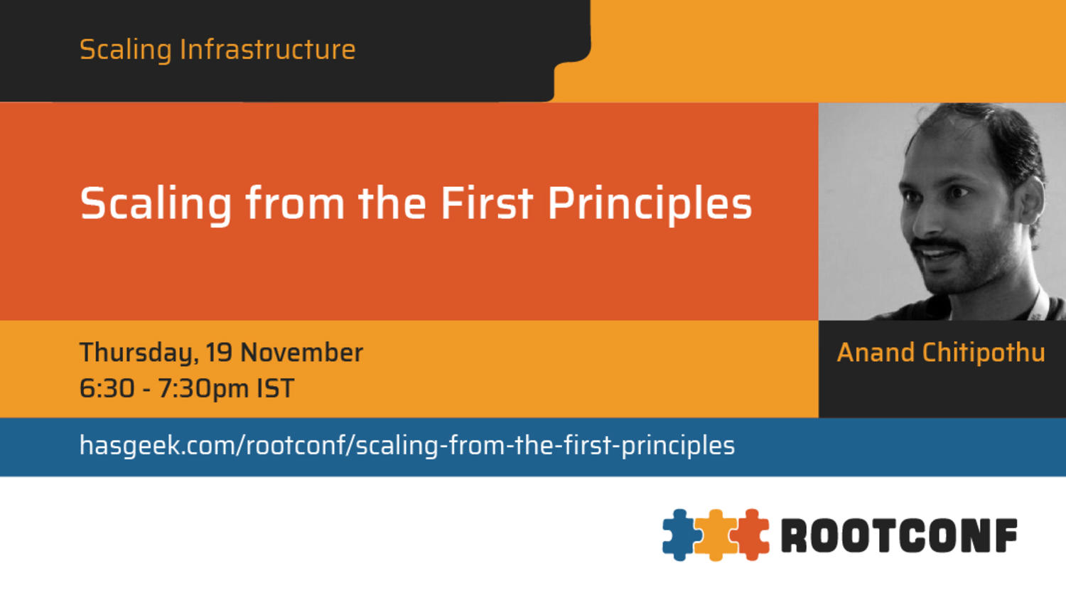 Scaling from the First Principles