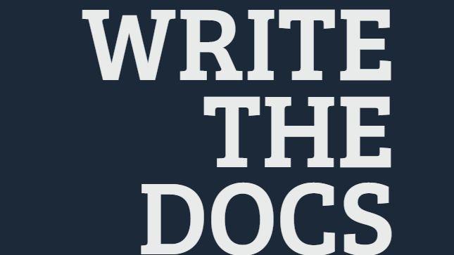 WriteTheDocs India meetup