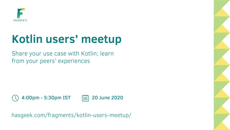Kotlin users' meetup