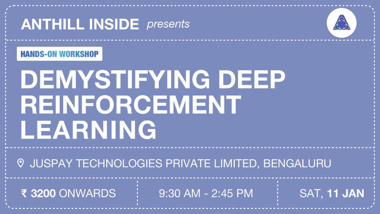 Hands-on workshop: Demystifying deep reinforcement learning