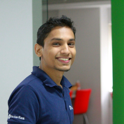 Sudhanshu Yadav, Front-end Architect at HackerRank