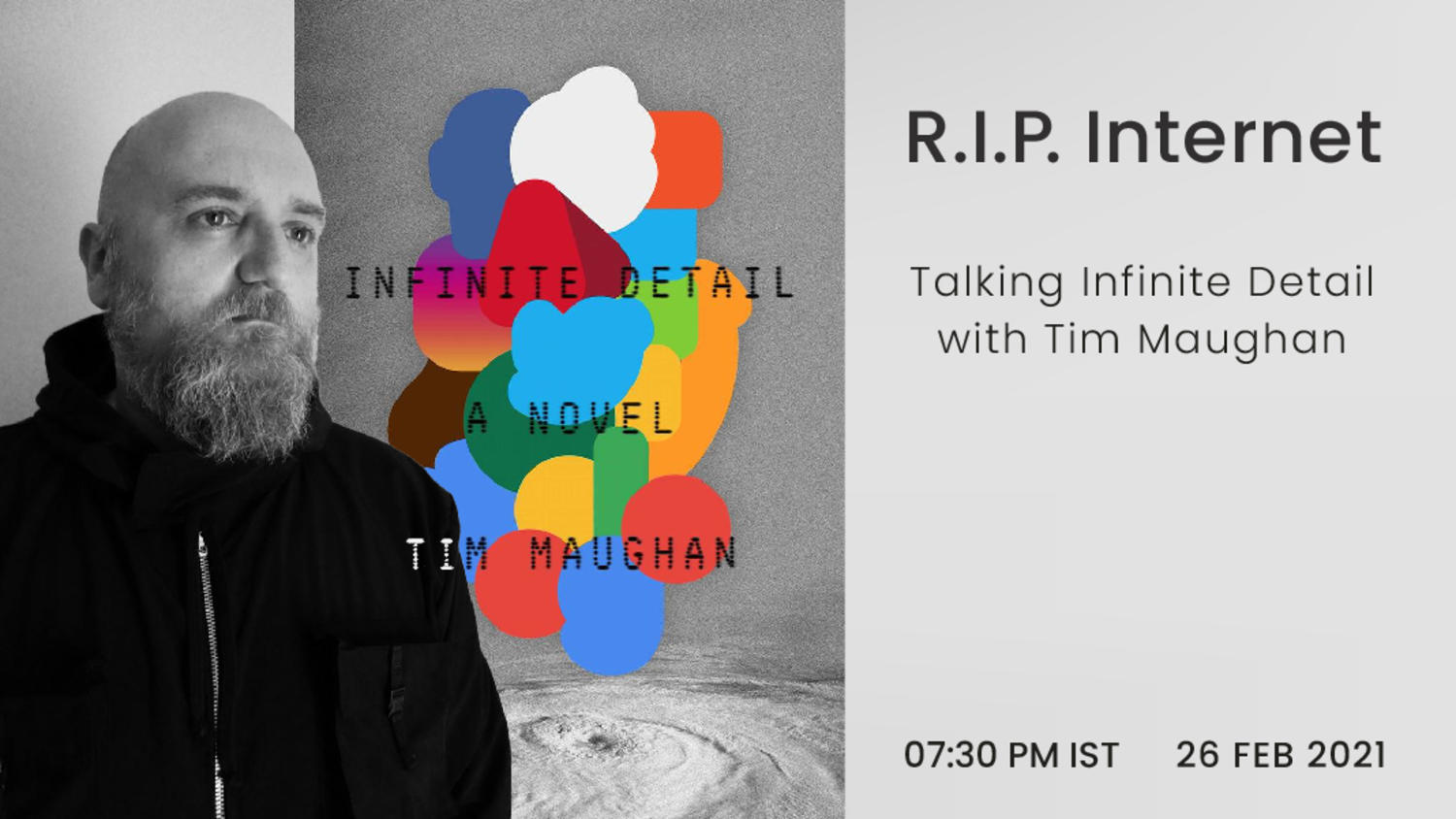 R.I.P. Internet: talking Infinite Detail with Tim Maughan