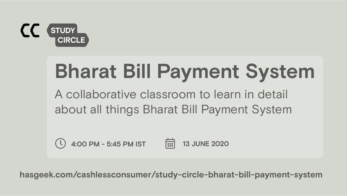 Study Circle - Bharat Bill Payment System