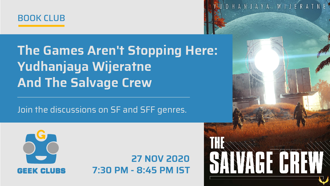 The games aren't stopping here: Yudhanjaya Wijeratne and The Salvage Crew