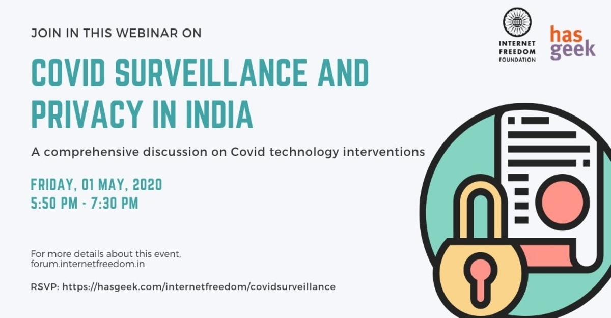 Covid Surveillance and Privacy in India
