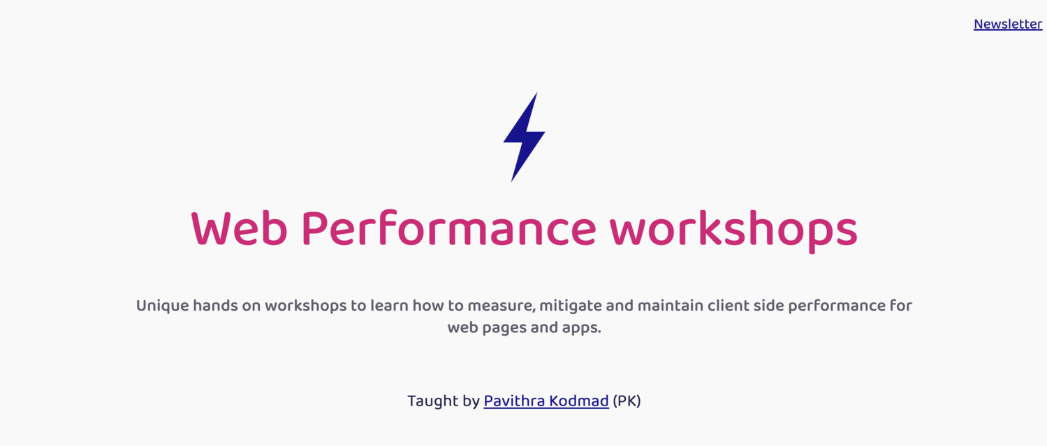 Web performance - Beginners