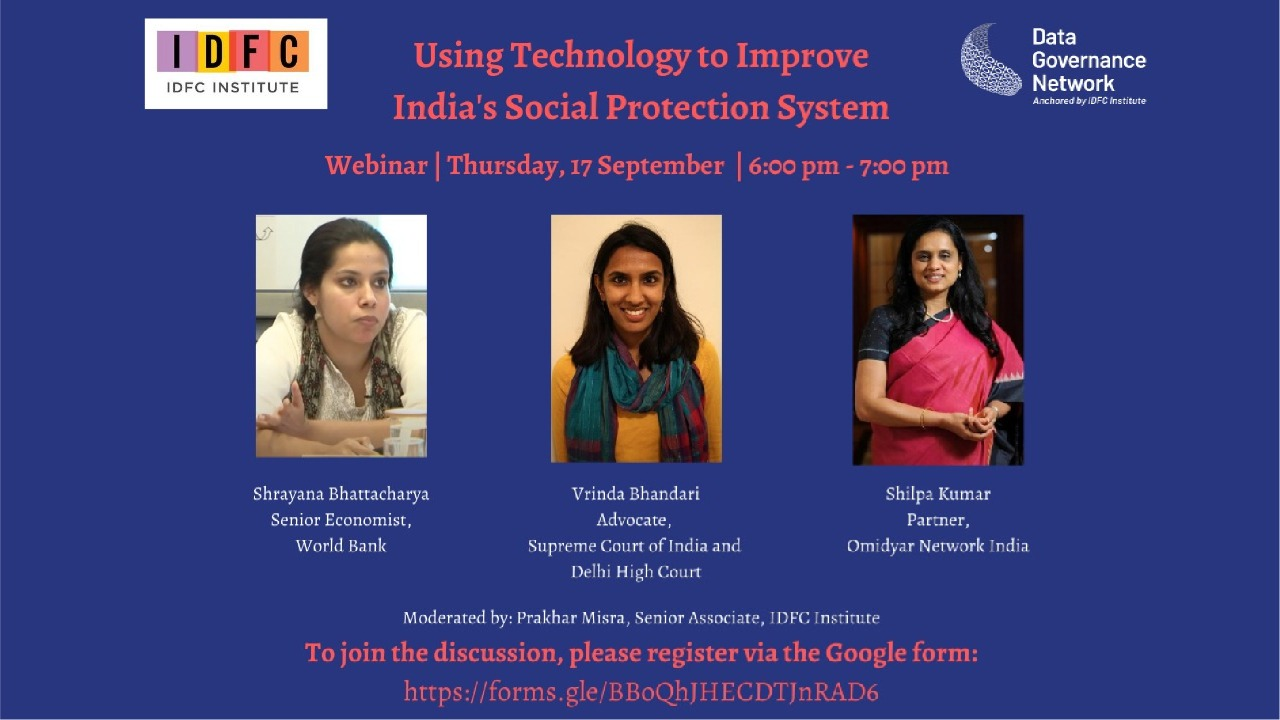 Using Technology to Improve India's Social Protection System