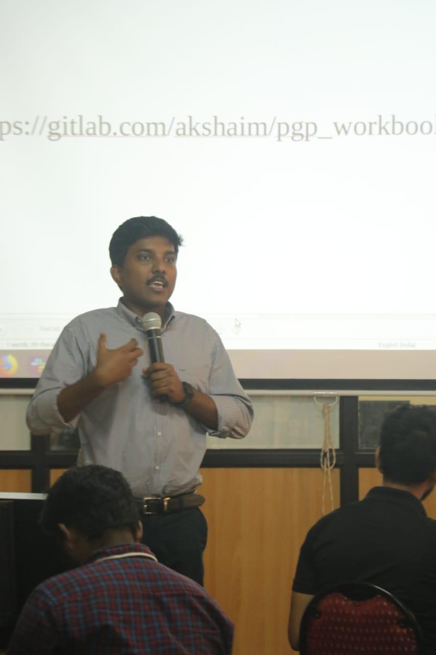 Akshai M, embedded HW researcher and LoRaWAN Engineer