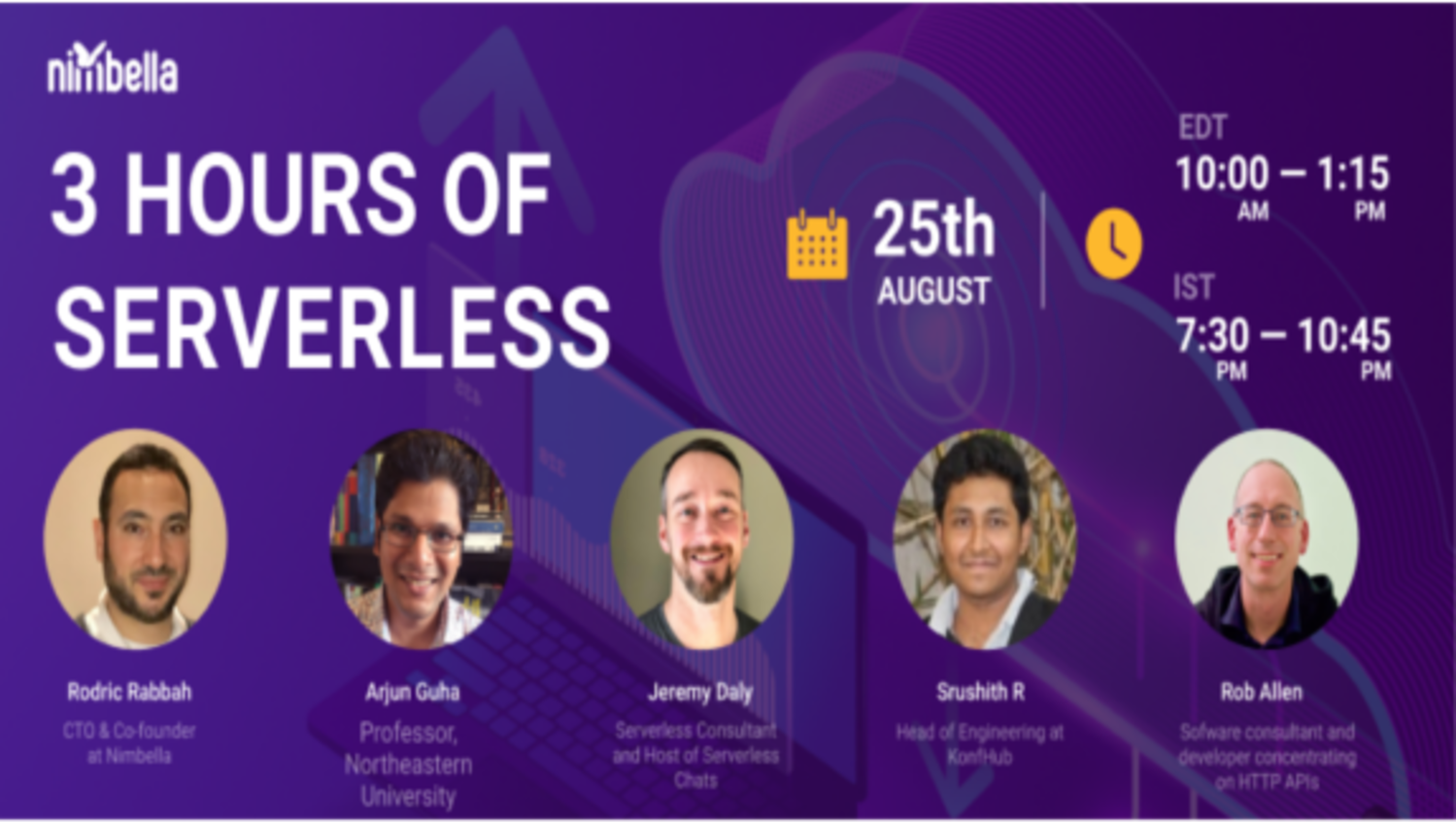 3 Hours of Serverless Conference