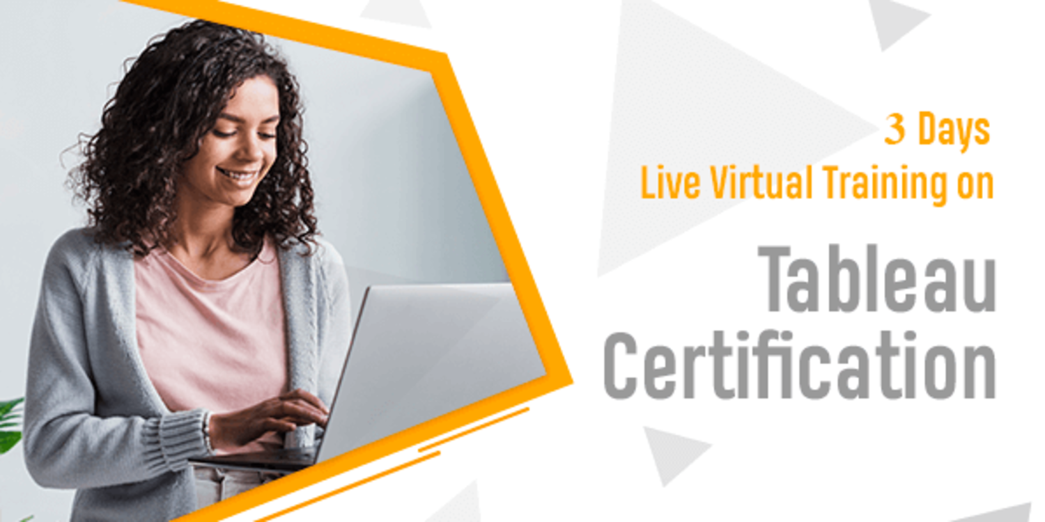 3 Days Live Virtual Training on Tableau certification