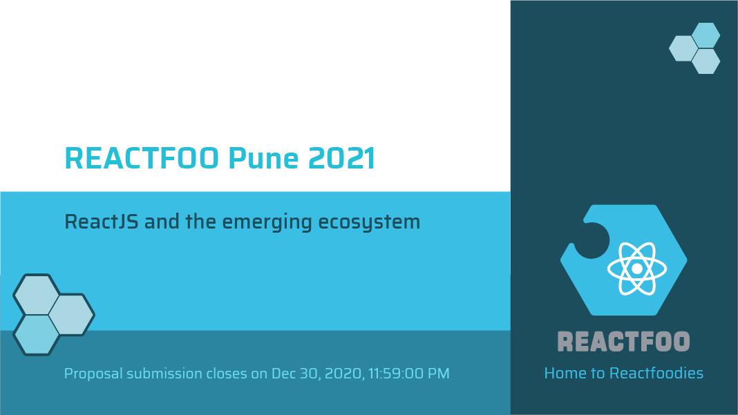ReactFoo Pune 2021