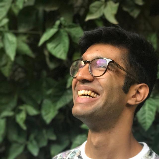 Ankur Sethi, front-end developer and JSFoo alumni