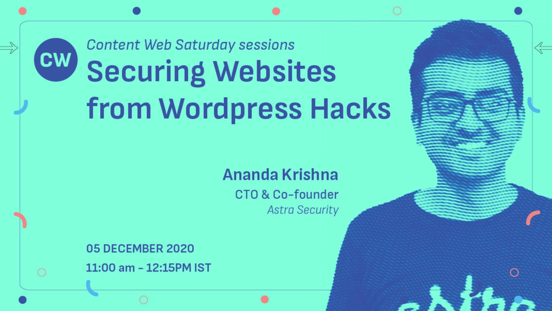 Securing Websites from Wordpress Hacks