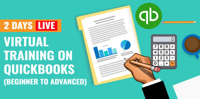 2 Days Live Virtual Training on QuickBooks