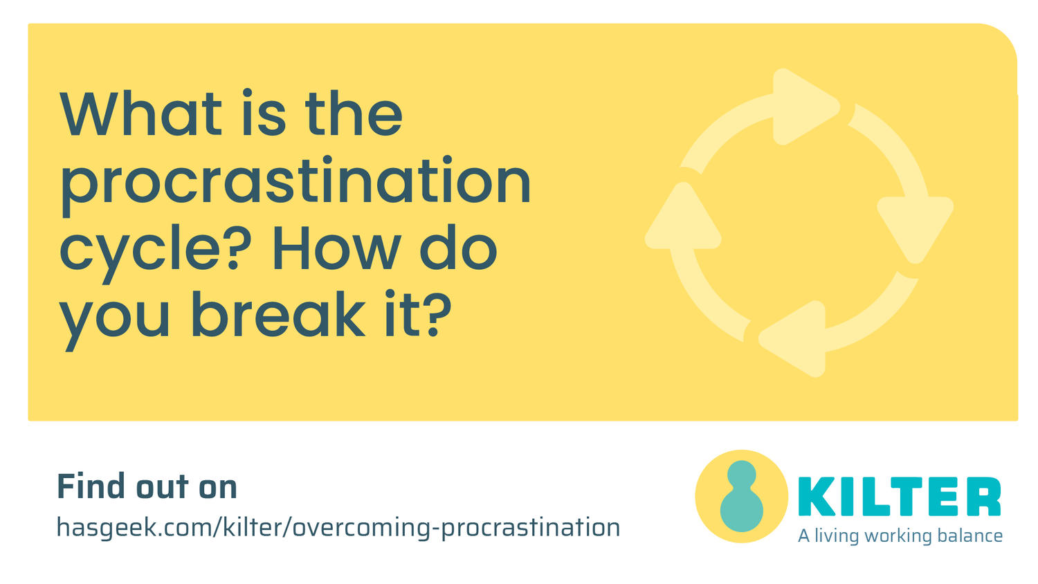 Tips and tricks to overcome procrastination