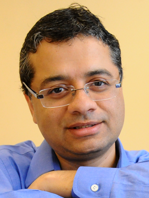 Vishal Misra, Professor in the Department of Computer Science at Columbia University