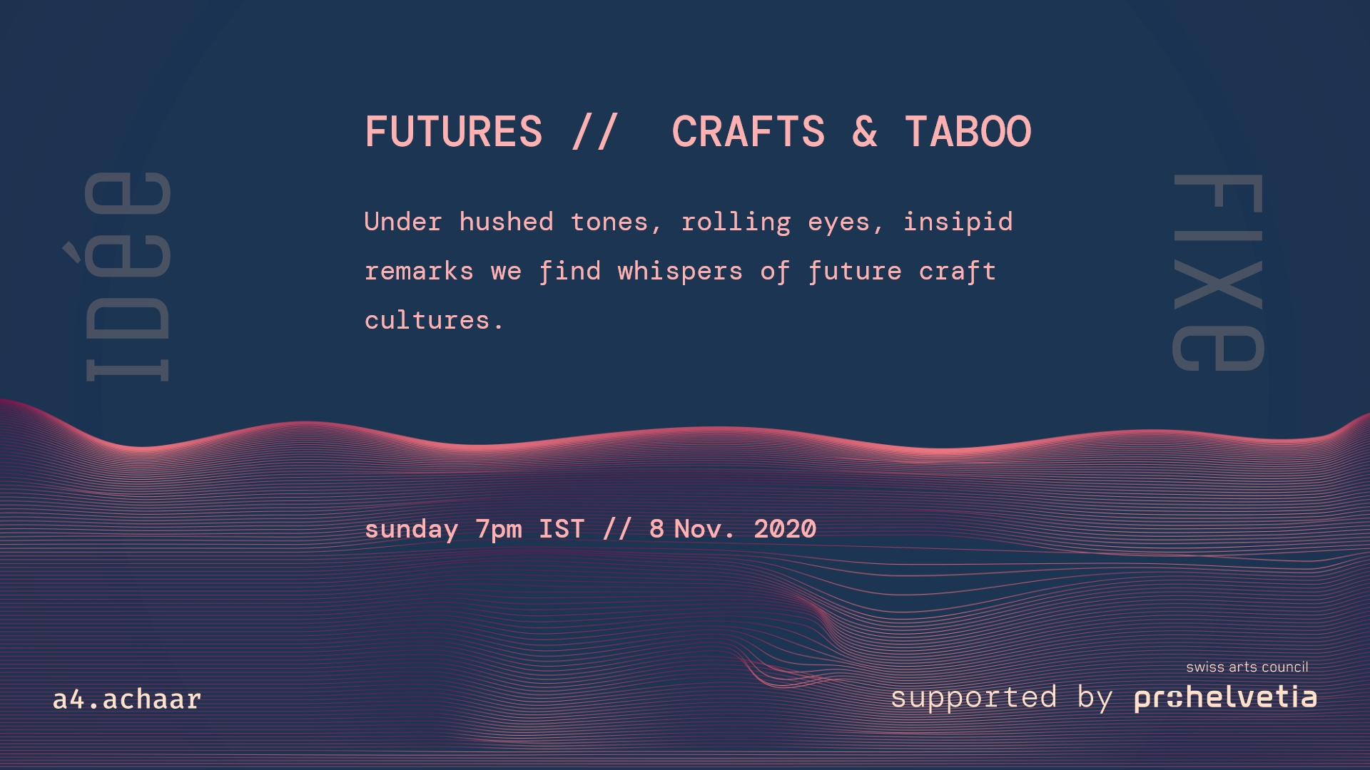 FUTURES // CRAFTS & TABOO