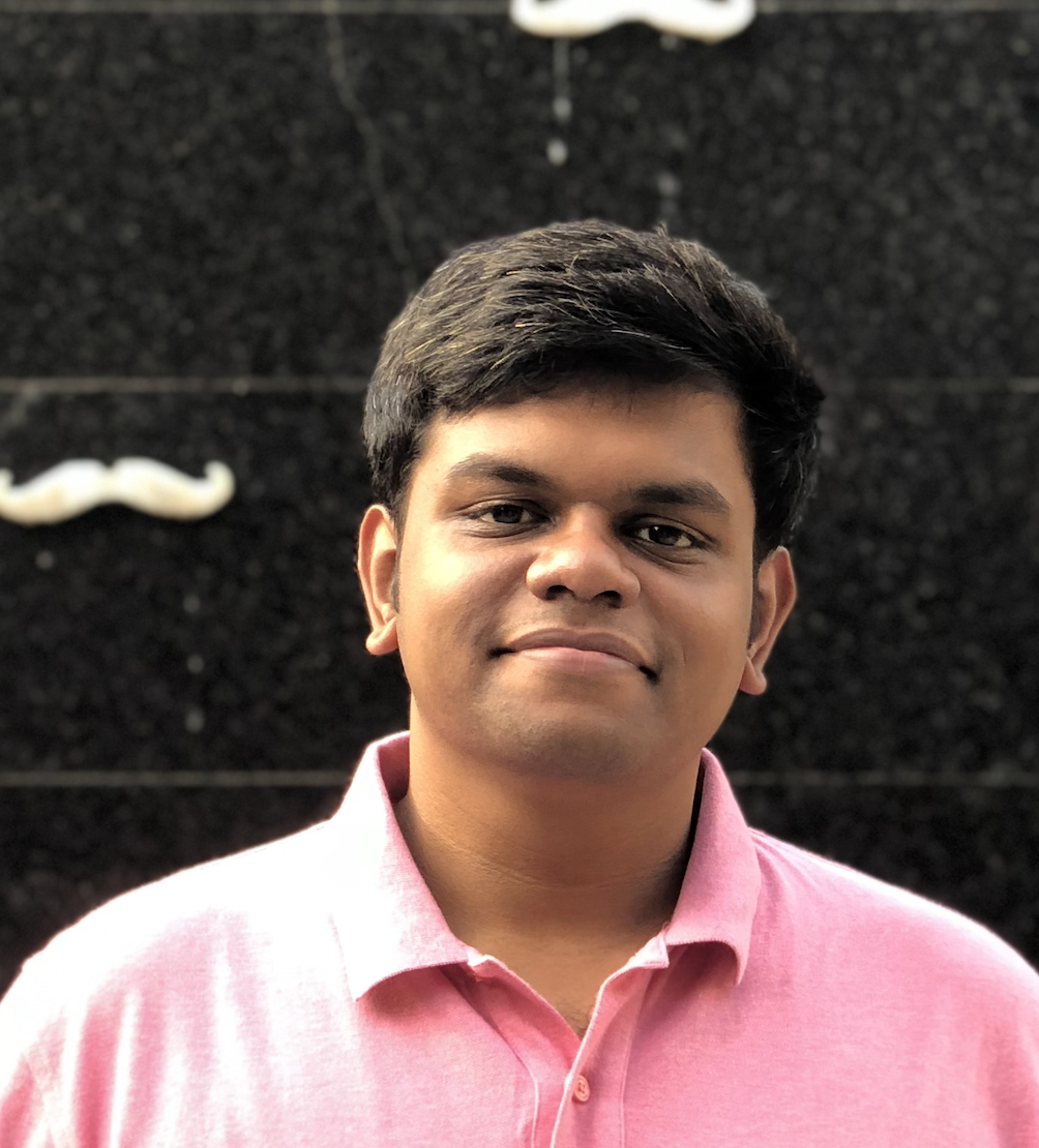 Thiyagaraj T, senior UI engineer at Kubric.io